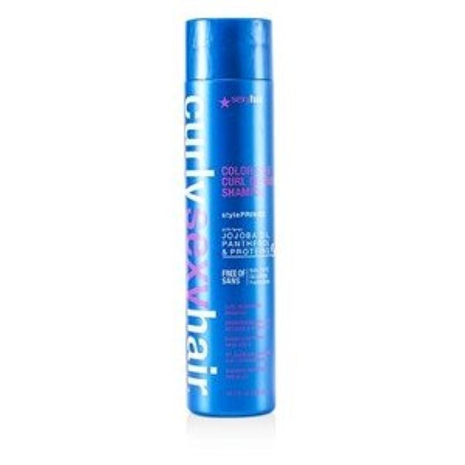 助けてボイラーポインタSexy Hair カラー セーフ カール ディファイニング シャンプー 300ml/10.1oz [並行輸入品]