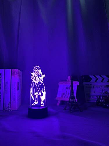 Gifts for Women Anime Gurren Lagann Simon guió luz nocturna para dormitorio decoración lámpara de noche tengen Toppa Gurren Lagan Regalo Acrílico Neon 3D DIY lámpara