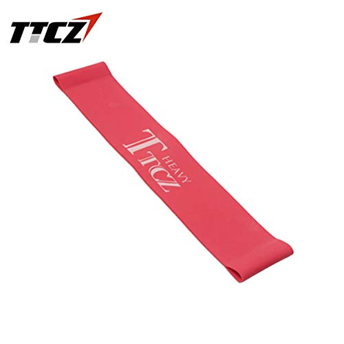 Fgdjfh Elastic Tension Resistance Band Übung Workout Gummiband Bodybuilding Muskeltraining Expander Yoga Fitnessgeräte - Rot 500x50x0.65mm