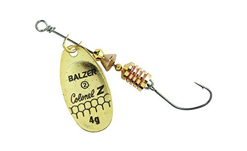 Balzer Colonel Z Spinner m. Einzelhaken - Gold - 3 g