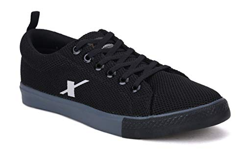 Sparx Men's Black Grey Sneakers-10 UK (44 2/3 EU) (SC0461G_BKGY0010)