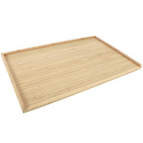 Tabla de quesos, tabla de cortar de bambú resistente al desgaste, con orejetas con una almohadilla antideslizante de doble cara para picar Amasar Cortar Cocina