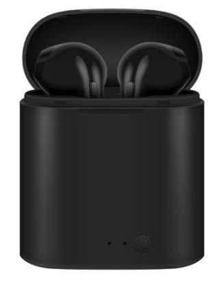 I7s TWS - Auriculares inalámbricos Bluetooth 5.0, deportivos, con micrófono, caja de carga, para todos los smartphones, color negro