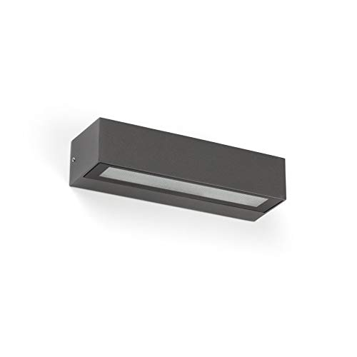 Faro Barcelona 71910- LAKO LED Lámpara aplique gris oscuro