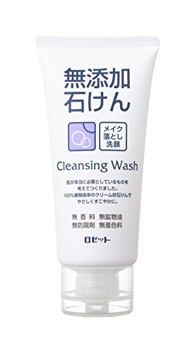 ROSETTE | Cleansing Wash | Additive Free Facial Washing Foam 120g (japan import)