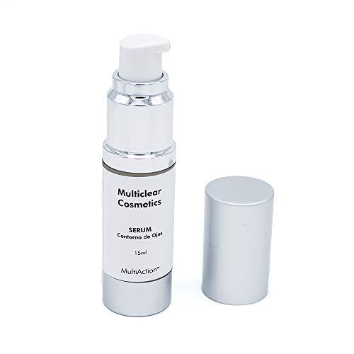 Multiclear Cosmetics - MULTICLEAR SERUM CONTORNO DE OJOS 15ml - Ayuda a reducir las finas líneas de expresión que aparecen alrededor de los ojos - Para una mirada luminosa