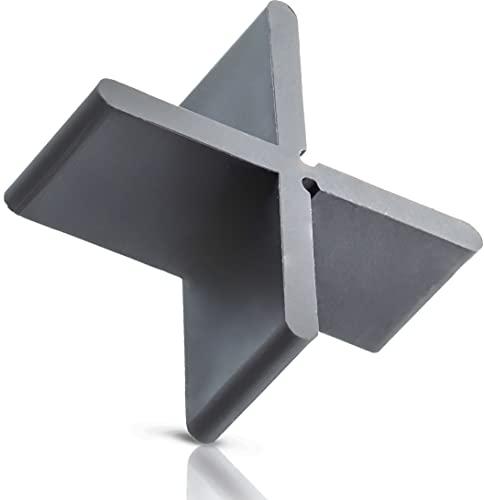 QUICK2FIX 3mm Profi - Fugenkreuze für Terrassenplatten 3mm x 20mm (B x H) - 100 Stück zum Verlegen im Außenbereich. Mit Sollbruchstelle als T-Stück verwendbar - Made in Germany