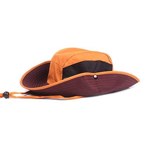 Mannen Folding Outdoor zonnehoed Quick-Drogen Hat Protection Vissen Jagen Trektocht Hat aijia (Color : Color03, Size : One Size)
