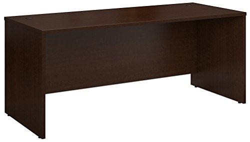 Bush Business Furniture Desk, 72W x 30D, Mocha Cherry