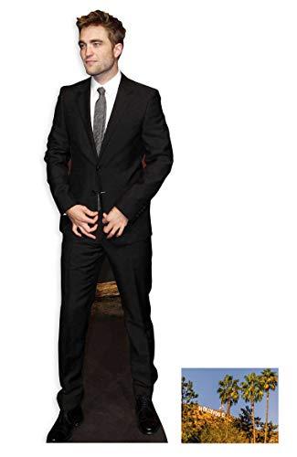 Fan Pack - Robert Pattinson LIFESIZE Cardboard Cutout (Standee/Standup) - Includes 8X10 (25X20CM) Star Photo - Fan Pack #265