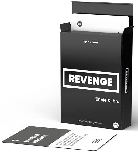 Revenge - für Sie und Ihn - das Real-Life Kartenspiel um den Alltag auf EIN neues Level zu bringen - Kartenspiel - Witziges Spiel