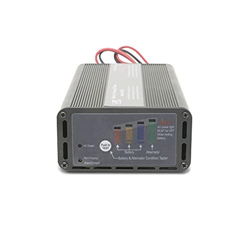 8 Amp Panel Mount Battery Charger & Tester for 12V Trailer Batteries