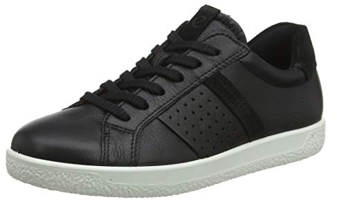 ECCO Damen Soft 1 Ladies Sneaker, Schwarz (Black/Black 51052), 39 EU
