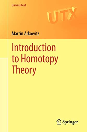 Introduction to Homotopy Theory (Universitext)