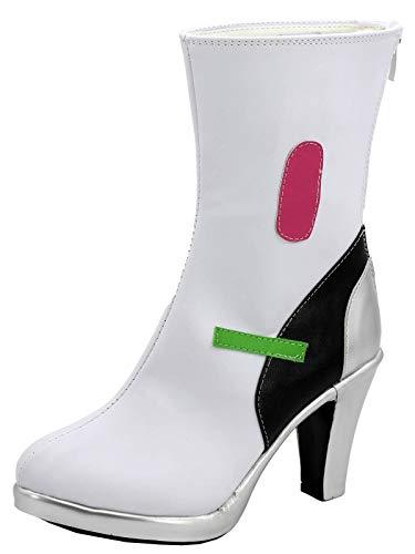 GOTEDDY Women's Hana Cosplay Shoes Halloween Boots Costume Booties (6.5 M US Female)
