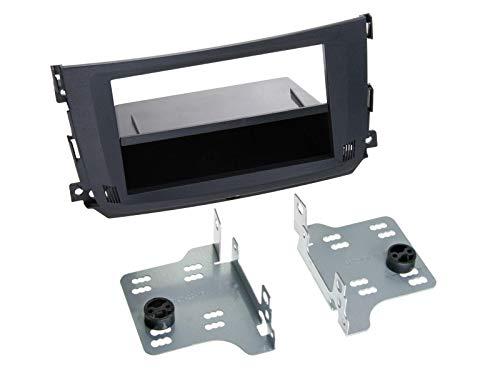 Radioblende Smart Fortwo (BR451) Facelift 1-Din