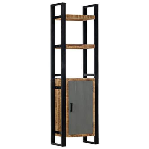 vidaXL Estantería de madera maciza de mango 50x30x170 cm