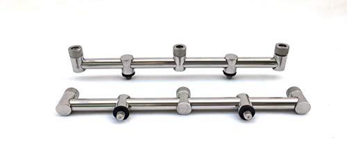 2x Edelstahl 30cm 3Rod Goal Post Buzz Bars