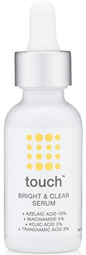 Skin Brightening Serum 10% Azelaic Acid Dark Spot Corrector & Remover for Face – 5% Niacinamide, 3% Kojic Acid, 3% Tranexamic Acid – Hydroquinone-free Hyperpigmentation, Age Spot, Melasma Treatment