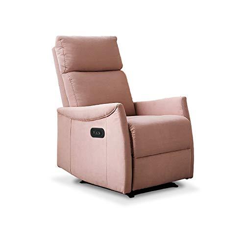 CIKO Sessel, Liegefunktion, Entspannungsstuhl, Kleines Elektrisches Sofa, Liege Mit USB, Geeignet Für Den Heimgebrauch