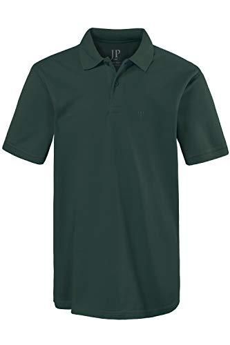 JP 1880 Herren große Größen bis 8XL, Poloshirt, Oberteil, Knopfleiste, Hemdkragen, Pique, dunkelgrün 5XL 702560 40-5XL