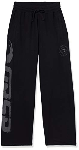 GASP Herren Sweat Pants (Black), L