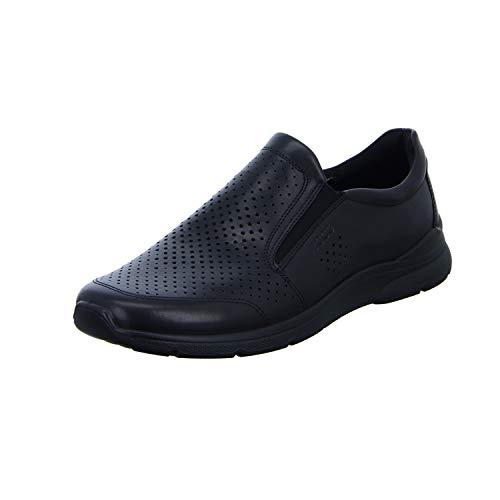 Ecco Herren IRVING Slip On Sneaker, Schwarz (Black 1001), 49 EU
