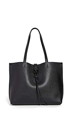 Rebecca Minkoff Women's Megan Tote, Black, One Size