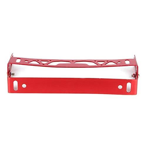 Universal License Plate Frame Car Decoration Adjustable License Plate Frame Holder Aluminum Alloy for carz