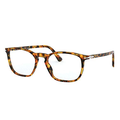 Persol 0PO3220V Monturas de gafas, Yellow Tortoise, 52 Unisex