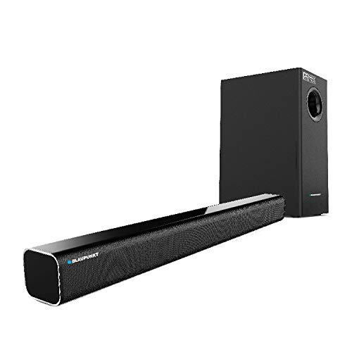Blaupunkt SBW02 100W Wired Dolby Soundbar with Subwoofer, Bluetooth and HDMI Arc