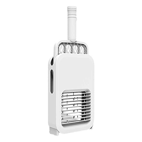 CQyg Mosca eléctrica Mosquitero eléctrico Swatter Inicio 2 en 1 Repelente de Mosquitos USB de Carga Control de iluminación Inteligente Control de Animales Volando