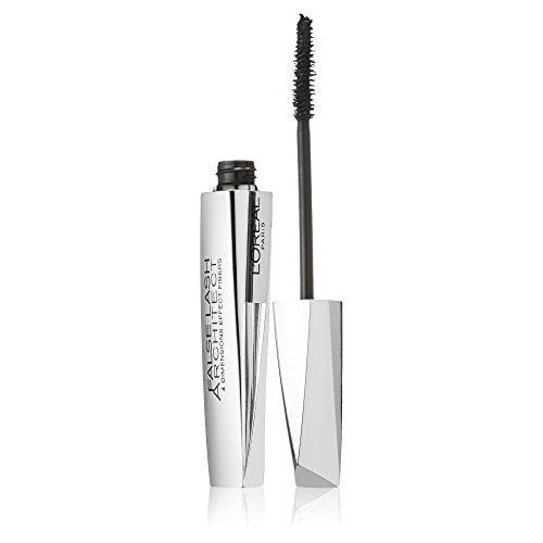 L'Oréal Paris Mascara, Schwarze Wimperntusche für dramatischen Schwung & Falsche-Wimpern-Effekt, False Lash Architect, Nr. 00 Schwarz, 1 x 10,5 ml
