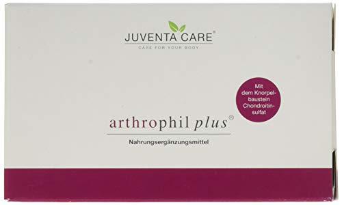 Juventa Care arthrophil plus - Nahrungsergänzungsmittel - mit dem Knorpelbaustein Chondroitinsulfat, 60 Kapseln