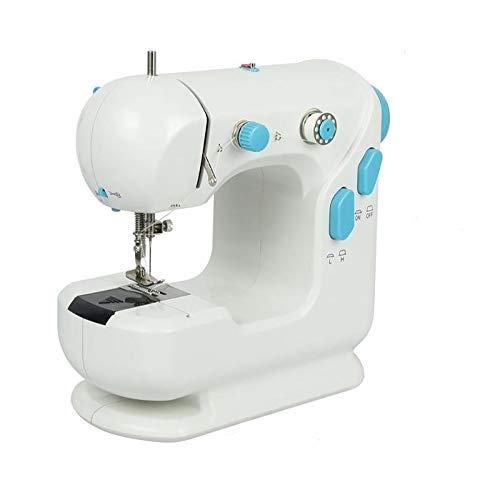 Máquina de Coser Portatil, Mini Máquina de Coser de Bricolaje Máquina de Coser Electrónica 2 Control de Velocidad Adecuado para Tela, Ropa o Tela de Niños