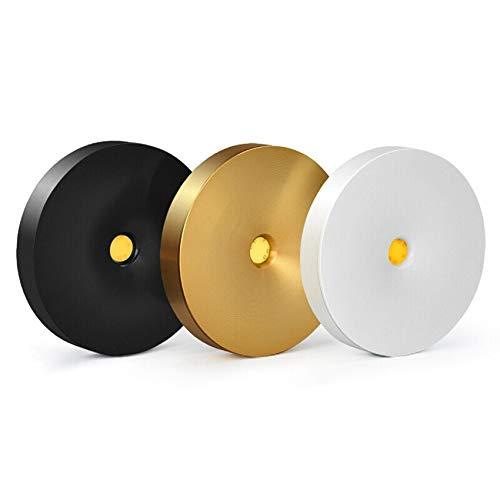 Super dun oppervlak monteren LED spotlight COB ronde plafond etalage sieraden wijnkast gratis opening achtergrond verlichting BL601