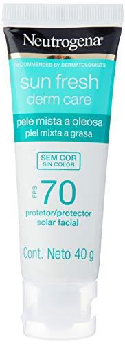Neutrogena Sun Fresh Oily Skin sem Cor Fps 70, Neutrogena