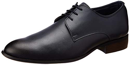 BATA Men's Declan Blue Formal Shoes