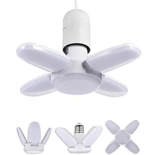 Seasons Shop Innen-Deckenventilator Mit LED-Licht, Außen-LED-Deckenventilator Mit LED-Licht Für E26 / E27