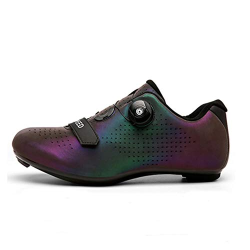 ST&SAT Adult Unlocked & Locked Road Synthetic Cycling Shoe with High Performance