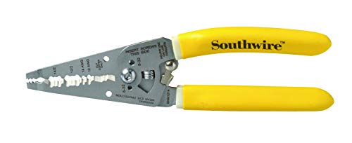 Southwire Tools & Equipment SNM1214 12-14 AWG Ergonomic Handles NM Cable Wire Stripper/Cutter