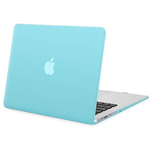 MOSISO Funda Dura Compatible con MacBook Air 13 Pulgadas (A1369 / A1466, Versión 2010-2017), Ultra Delgado Carcasa Rígida Protector de Plástico Cubierta, Turquesa
