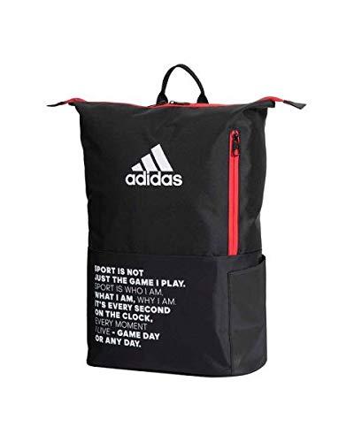 Adidas Padel Mochila Adidas Padel MultiGame Rojo 2020, Adultos Unisex, Negro, Talla Única