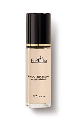 FF01 NUDO FONDOTINTA FLUIDO spf25 Copertura effetto mat naturale Per tutti i tipi di pelle 30ML