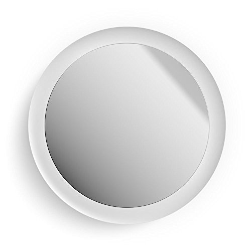 Philips Hue Adore Led-verlichte spiegel, wit, 2400 lm, incl. dimschakelaar, IP44, badkamerspiegel met afstandsbediening, spatwaterdicht