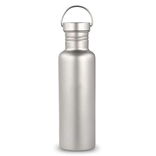 N / B Taza de Agua al Aire Libre, Botella de Agua de Titanio