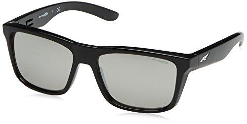 Arnette Syndrome gafas de sol, Gloss Black, 57 para Hombre