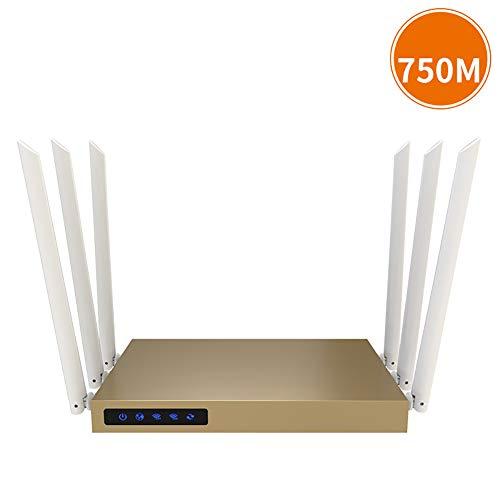 RSGK WiFi villa router, 2.4G, 5.8G twee banden van WiFi Internet toegang, dual CPU coördinatie, 6 antennes 3PA, 600 vierkante meter dekking gebied