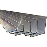 Perfil angular de aluminio en forma de L de hasta 2m de longitud
