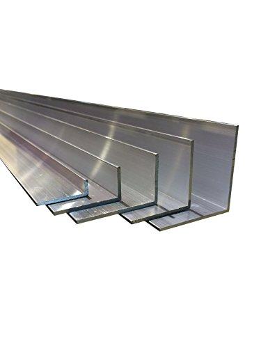 Aluminium Winkel [40 x 15 x 2 mm x 2.000+-4 mm]